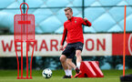 SOUTHAMPTON, ENGLAND - MARCH 05: James Ward-Prowse during a Southampton FC training session at the Staplewood Campus on March 05, 2019 in Southampton, England. (Photo by Matt Watson/Southampton FC via Getty Images)