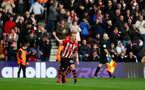 SOUTHAMPTON, ENGLAND - MARCH 09: James Ward-Prowse of Southampton celebrates during the Premier League match between Southampton FC and Tottenham Hotspur at St Mary's Stadium on March 09, 2019 in Southampton, United Kingdom. (Photo by Matt Watson/Southampton FC via Getty Images)