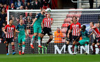 SOUTHAMPTON, ENGLAND - MARCH 09: Oriol Romeu(R) of Southampton and Erik Dier of Tottenham Hotspur during the Premier League match between Southampton FC and Tottenham Hotspur at St Mary's Stadium on March 09, 2019 in Southampton, United Kingdom. (Photo by Matt Watson/Southampton FC via Getty Images)