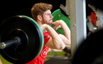 Stuart Armstrong during a Southampton gym session, at the Staplewood Campus, Southampton, 12th March 2019