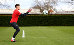 SOUTHAMPTON, ENGLAND - MARCH 13: Harry Lewis during a Southampton FC training session at Staplewood Complex on March 18, 2019 in Southampton, England. (Photo by James Bridle - Southampton FC/Southampton FC via Getty Images)