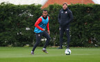 Ryan Bertrand during Southampton FC training session at the Staplewood Campus, Southampton, 22nd March 2019