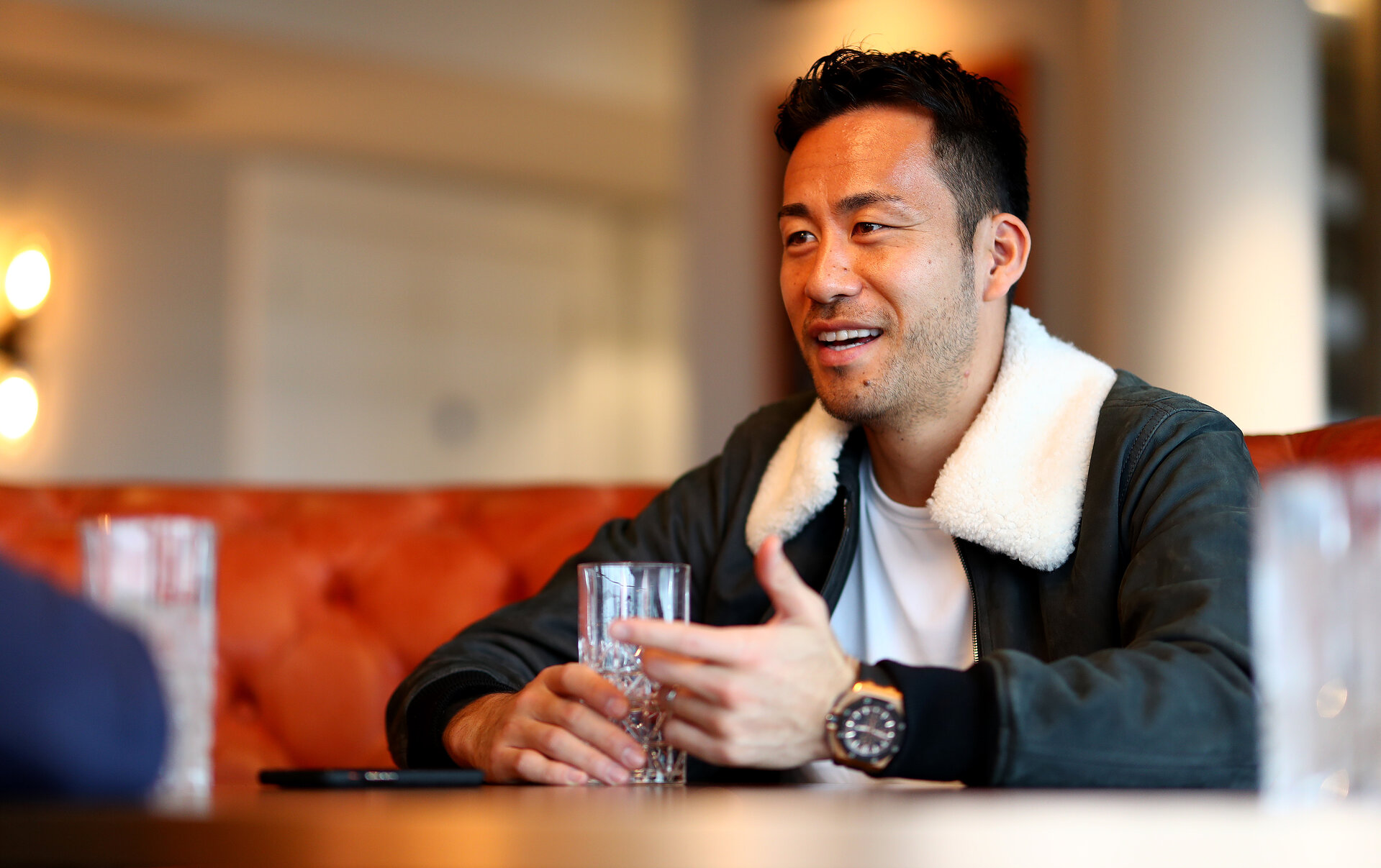 SOUTHAMPTON, ENGLAND - MARCH 19: SouthamptonFC's Maya Yoshida pictured for the club's match day magazine at Southampton Harbour Hotel, on March 19, 2019 in Southampton, England. (Photo by Matt Watson/Southampton FC via Getty Images)