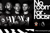 Saints support No Room For Racism campaign