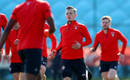 SOUTHAMPTON, ENGLAND - MARCH 27: James Ward-Prowse during a Southampton FC training session at the Staplewood Campus on March 27, 2019 in Southampton, England. (Photo by Matt Watson/Southampton FC via Getty Images)