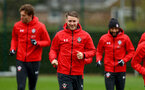 SOUTHAMPTON, ENGLAND - APRIL 04: Callum Slattery during a Southampton FC training session at the Staplewood Campus on April 04, 2019 in Southampton, England. (Photo by Matt Watson/Southampton FC via Getty Images)
