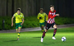 SOUTHAMPTON, ENGLAND - APRIL 05:  Will Smallbone (right) during the U23's PL2 match between Southampton FC and Norwich City pictured at Staplewood Complex on April 05, 2019 in Southampton, England. (Photo by James Bridle - Southampton FC/Southampton FC via Getty Images)