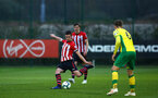 SOUTHAMPTON, ENGLAND - APRIL 05: Tom O'Connor   during the U23's PL2 match between Southampton FC and Norwich City pictured at Staplewood Complex on April 05, 2019 in Southampton, England. (Photo by James Bridle - Southampton FC/Southampton FC via Getty Images)