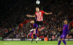 SOUTHAMPTON, ENGLAND - APRIL 05: Jan Bednarek during the Premier League match between Southampton FC and Liverpool FC at St Mary's Stadium on April 5th, 2019 in Southampton, United Kingdom. (Photo by Chris Moorhouse/Southampton FC via Getty Images)