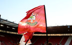 SOUTHAMPTON, ENGLAND - APRIL 10: Southampton FC Flag ahead of the International PL Cup match between Southampton FC and Dinamo Zagreb, pictured at St. Mary's Stadium on April 10, 2019 in Southampton, England. (Photo by James Bridle - Southampton FC/Southampton FC via Getty Images) (Photo by James Bridle - Southampton FC/Southampton FC via Getty Images)