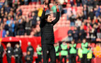 SOUTHAMPTON, ENGLAND - APRIL 13: Ralph Hasenhuttl during the Premier League match between Southampton FC and Wolverhampton Wanderers at St Mary's Stadium on April 13, 2019 in Southampton, United Kingdom. (Photo by Chris Moorhouse/Southampton FC via Getty Images)