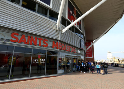 Saints Stores closed on Thursday