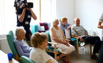 SOUTHAMPTON, ENGLAND - APRIL 17: general view of patients of Southampton General Hospital pictured on April 17, 2019 in Southampton, England. (Photo by James Bridle - Southampton FC/Southampton FC via Getty Images)