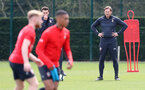 SOUTHAMPTON, ENGLAND - APRIL 18: Ralph Hasenhuttl during a Southampton FC training session at the Staplewood Campus on April 18, 2019 in Southampton, England. (Photo by Matt Watson/Southampton FC via Getty Images)