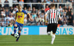 NEWCASTLE UPON TYNE, ENGLAND - APRIL 20: James Ward-Prowse of Southampton during the Premier League match between Newcastle United and Southampton FC at St. James Park on April 20, 2019 in Newcastle upon Tyne, United Kingdom. (Photo by Matt Watson/Southampton FC via Getty Images)