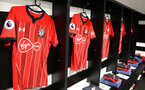 WATFORD, ENGLAND - APRIL 23: Inside the Southampton FC dressing room ahead of the Premier League match between Watford FC and Southampton FC at Vicarage Road on April 23, 2019 in Watford, United Kingdom. (Photo by Matt Watson/Southampton FC via Getty Images)
