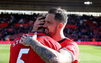 SOUTHAMPTON, ENGLAND - APRIL 27: Danny Ings during the Premier League match between Southampton FC and AFC Bournemouth at St Mary's Stadium on April 27, 2019 in Southampton, United Kingdom. (Photo by Matt Watson/Southampton FC via Getty Images)