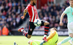 SOUTHAMPTON, ENGLAND - APRIL 27: Nathan Redmond during the Premier League match between Southampton FC and AFC Bournemouth at St Mary's Stadium on April 27, 2019 in Southampton, United Kingdom. (Photo by Chris Moorhouse/Southampton FC via Getty Images)