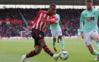 SOUTHAMPTON, ENGLAND - APRIL 27: Yan Valery during the Premier League match between Southampton FC and AFC Bournemouth at St Mary's Stadium on April 27, 2019 in Southampton, United Kingdom. (Photo by Chris Moorhouse/Southampton FC via Getty Images)