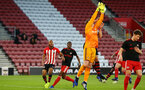 SOUTHAMPTON, ENGLAND - APRIL 29: during the Premier League 2 match between Southampton FC and Sunderland pictured at St Mary's Stadium on April 29, 2019 in Southampton, England. (Photo by James Bridle - Southampton FC/Southampton FC via Getty Images)