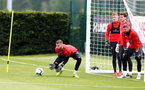 SOUTHAMPTON, ENGLAND - MAY 01: Angus Gunn during a Southampton FC training session at the Staplewood Campus on May 01, 2019 in Southampton, England. (Photo by Matt Watson/Southampton FC via Getty Images)