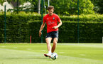 SOUTHAMPTON, ENGLAND - MAY 02:  Sam Gallagher during a Southampton FC training session pictured at Staplewood Complex on May 2, 2019 in Southampton, England. (Photo by James Bridle - Southampton FC/Southampton FC via Getty Images)