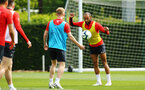 SOUTHAMPTON, ENGLAND - MAY 02:  during a Southampton FC training session pictured at Staplewood Complex on May 2, 2019 in Southampton, England. (Photo by James Bridle - Southampton FC/Southampton FC via Getty Images)