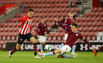 SOUTHAMPTON, ENGLAND - MAY 03: Will Smallbone (left) during the U23s PL2 Play off Semi-Final between Southampton FC and Aston Villa FC pictured at St Mary's Stadium on May 03, 2019 in Southampton, England. (Photo by James Bridle - Southampton FC/Southampton FC via Getty Images)