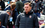 LONDON, ENGLAND - MAY 04: Ralph Hasenhuttl of Southampton during the Premier League match between West Ham United and Southampton FC at the London Stadium on May 04, 2019 in London, United Kingdom. (Photo by Matt Watson/Southampton FC via Getty Images)