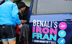 Former Southampton footballer Francis Benali on the fourth day of his epic IronFran challenge to raise £1m for Cancer Research UK. Franny is taking on 7 Iron Man distance triathlons in 7 days.