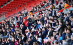 SOUTHAMPTON, ENGLAND - MAY 08: Fans watch on during a Southampton FC open training session at St Mary's Stadium on May 08, 2019 in Southampton, England. (Photo by Matt Watson/Southampton FC via Getty Images)