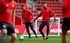 SOUTHAMPTON, ENGLAND - MAY 08: Shane Long during a Southampton FC open training session at St Mary's Stadium on May 08, 2019 in Southampton, England. (Photo by Matt Watson/Southampton FC via Getty Images)