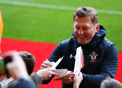 Fan return delights Hasenhüttl
