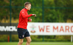 SOUTHAMPTON, ENGLAND - MAY 09: James Ward-Prowse during a Southampton FC training session pictured at Staplewood Training Ground on May 9, 2019 in Southampton, England. (Photo by James Bridle - Southampton FC/Southampton FC via Getty Images)