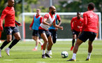 SOUTHAMPTON, ENGLAND - MAY 10: Nathan Redmond during a Southampton FC training session at the Staplewood Campus on May 10, 2019 in Southampton, England. (Photo by Matt Watson/Southampton FC via Getty Images)