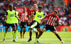 SOUTHAMPTON, ENGLAND - MAY 12: Danny Ings (right) during the Premier League match between Southampton FC and Huddersfield Town at St Mary's Stadium on May 12, 2019 in Southampton, United Kingdom. (Photo by James Bridle - Southampton FC/Southampton FC via Getty Images)