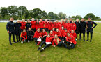 SOUTHAMPTON, ENGLAND - MAY 19: during the Womens Cup Final match between Southampton FC and Oxford pictured at AFC Totten on May 19, 2019 in Southampton, England. (Photo by James Bridle - Southampton FC/Southampton FC via Getty Images)