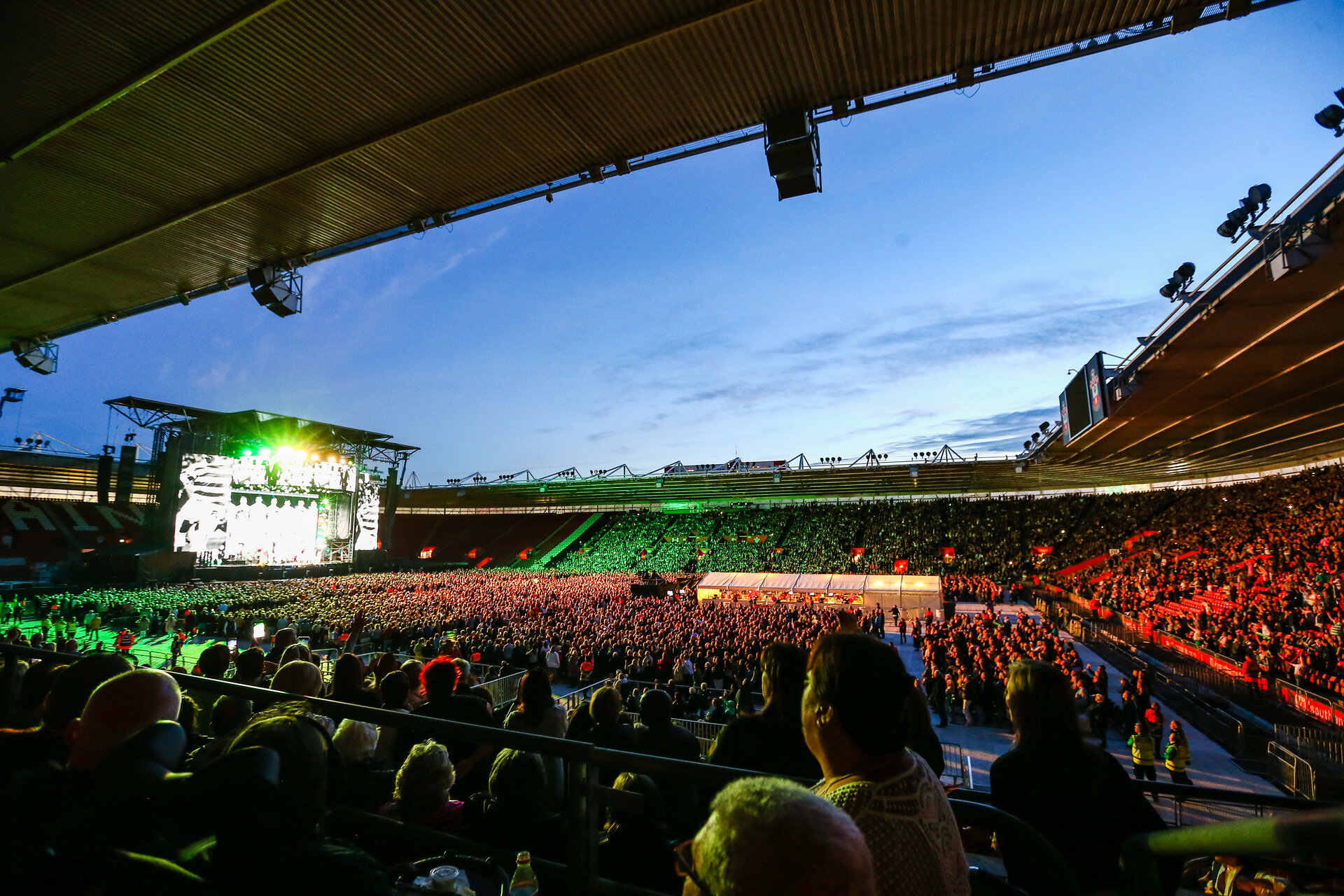 SOUTHAMPTON, ENGLAND - MAY 31:  General View during The Rod Stewart Concert pictured at St Marys Stadium on May 31, 2019 in Southampton, England. (Photo by James Bridle - Southampton FC/Southampton FC via Getty Images)