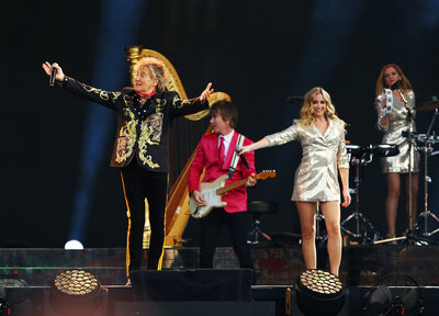 Gallery: Rod Stewart at St Mary's!