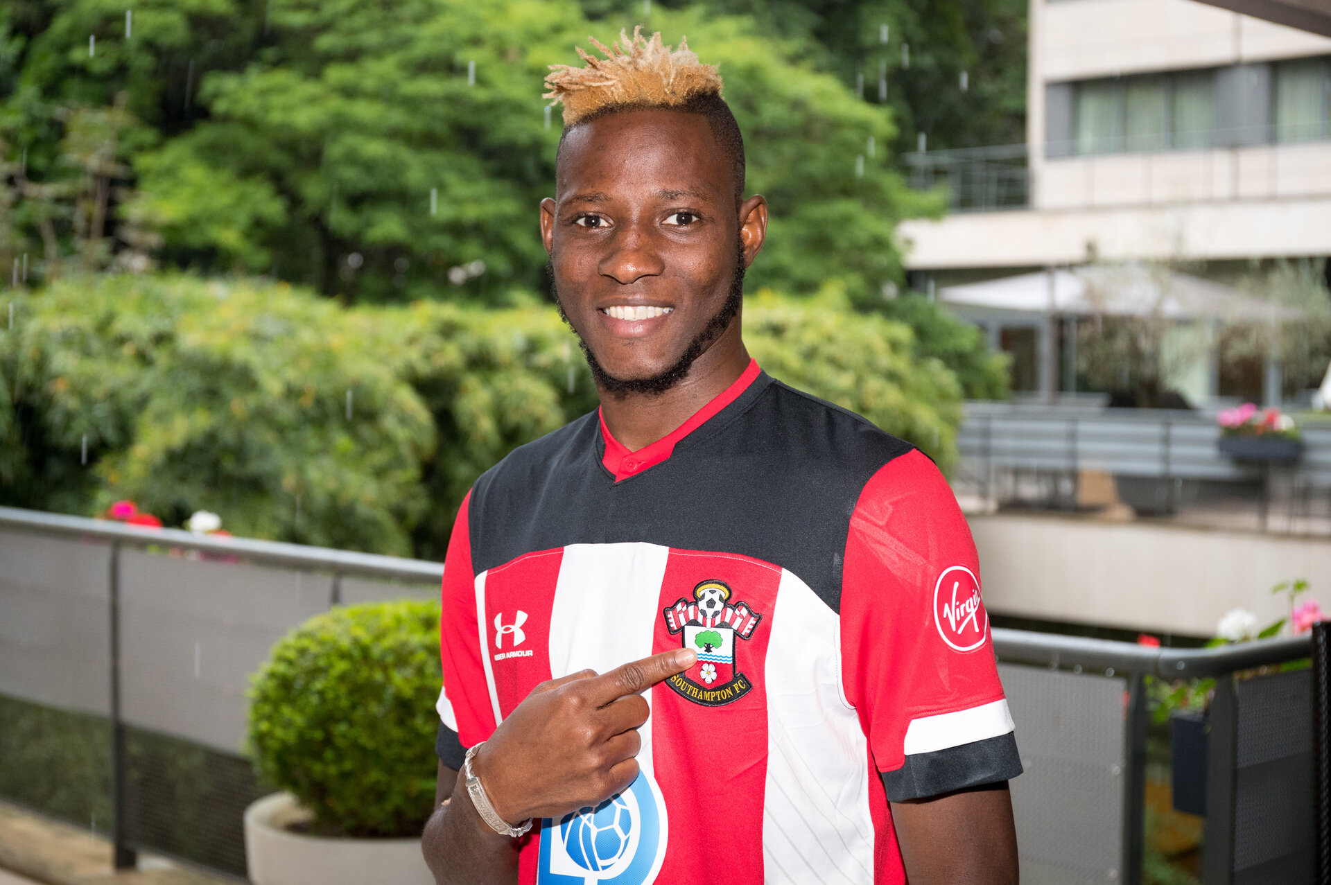 Moussa Djenepo in Paris for Southampton FC