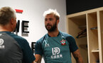 Charlie Austin as Southampton FC players return for their first day ahead of training ahead ofthe 2019/20 Premier League season, Staplewood Campus, Southampton, 1st July 2019