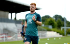 SOUTHAMPTON, ENGLAND - JULY 01: Harrison Reed during pre season testing pictured at Staplewood Complex on July 01, 2019 in Southampton, England. (Photo by James Bridle - Southampton FC/Southampton FC via Getty Images)