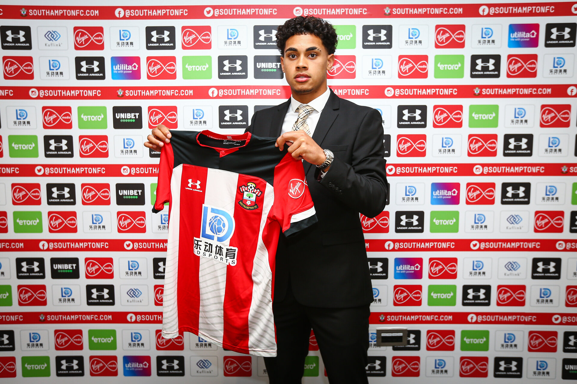 SOUTHAMPTON, ENGLAND - JULY 01: Christian Norton signs his pro contract extension with Southampton FC on July 01, 2018 pictured at St Marys Stadium, Southampton, England. (Photo by James Bridle - Southampton FC/Southampton FC via Getty Images)