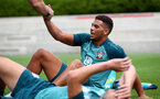 SOUTHAMPTON, ENGLAND - JULY 02: Che Adams during Southampton FC's second day of pre season training at the Staplewood Campus on July 02, 2019 in Southampton, England. (Photo by Matt Watson/Southampton FC via Getty Images)