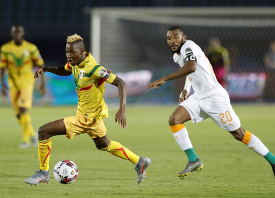 Djenepo and Mali fall to Ivory Coast defeat