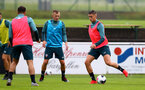 SCHRUNS, AUSTRIA - JULY 08: Will Smallbone(R) during a Southampton FC pre season training session, on July 08, 2019 in Schruns, Austria. (Photo by Matt Watson/Southampton FC via Getty Images)