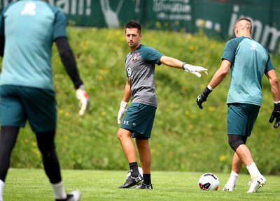 Interview: New goalkeeping coach Sparkes