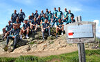 SCHRUNS, AUSTRIA - JULY 10: Southampton FC players and staff during a pre season team walk on July 10, 2019 in Schruns, Austria. (Photo by Matt Watson/Southampton FC via Getty Images)