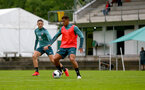 SCHRUNS, AUSTRIA - JULY 12: Che Adams during a Southampton FC pre season training session on July 12, 2019 in Schruns, Austria. (Photo by Matt Watson/Southampton FC via Getty Images)