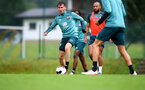 SCHRUNS, AUSTRIA - JULY 12: Jake Vokins during a Southampton FC pre season training session on July 12, 2019 in Schruns, Austria. (Photo by Matt Watson/Southampton FC via Getty Images)